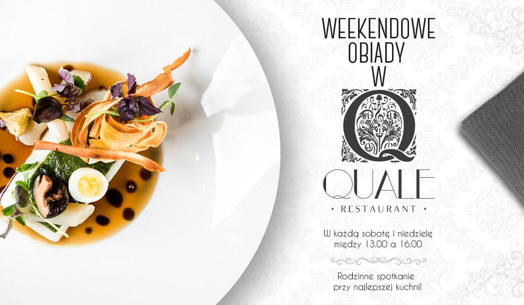Weekendowy obiad w Quale