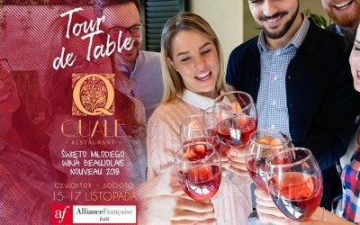 Tour de Table w Quale – święto młodego wina Beaujolais Nouveau 2018
