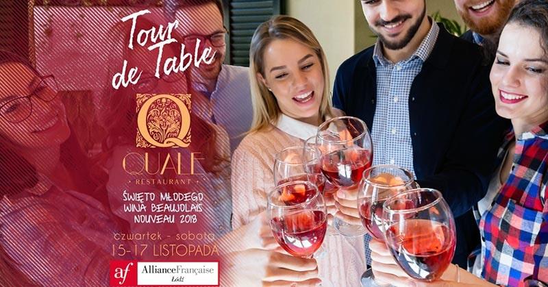 Wydarzenie Tour de Table Quale
