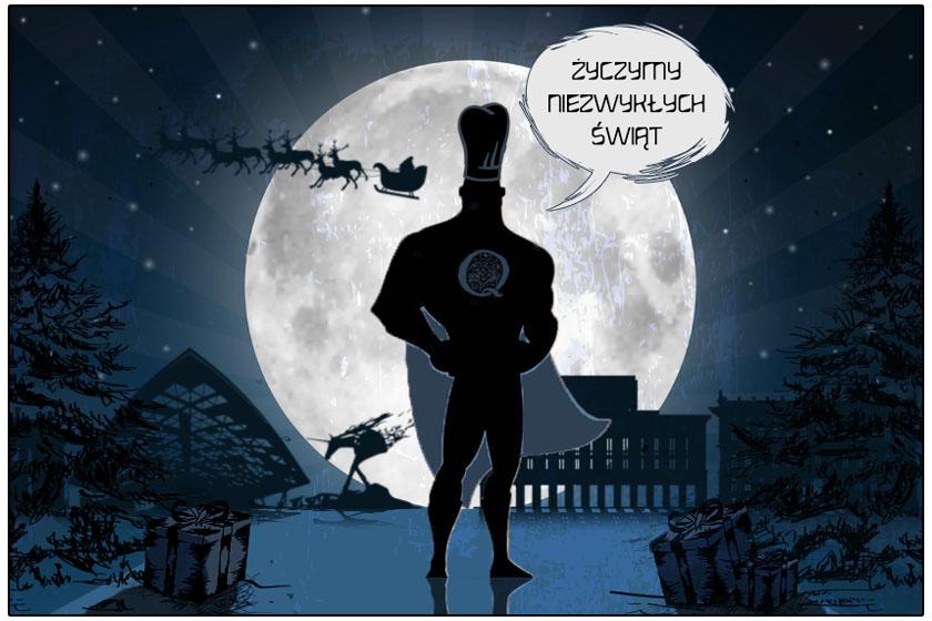 Życzymy niezwykłych świąt